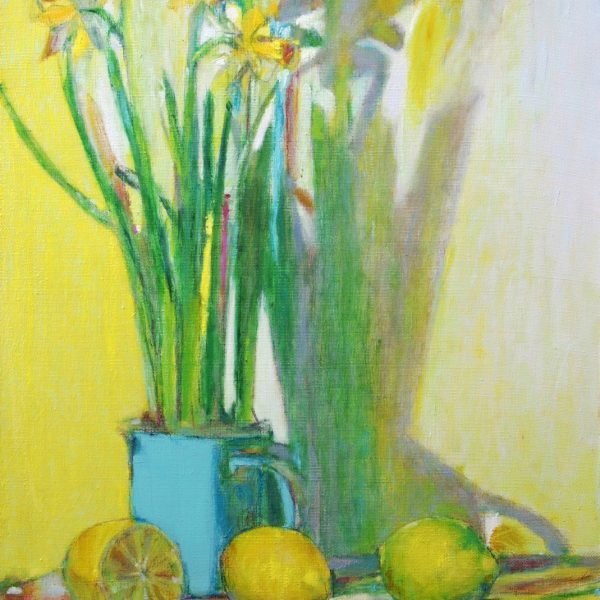 Narzissen und Zitronen