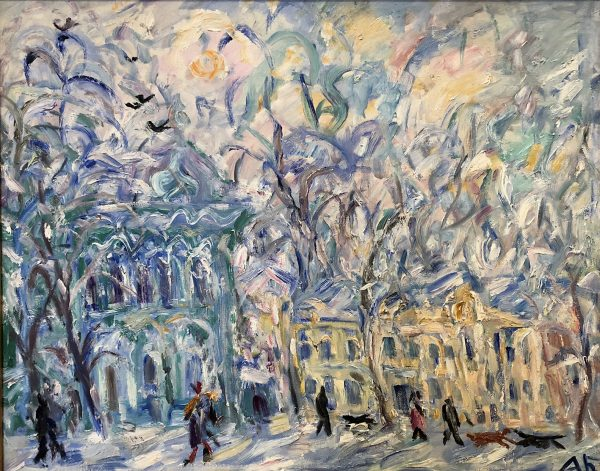 Moskau, Winter