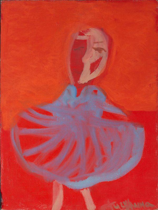 Rote Ballerina